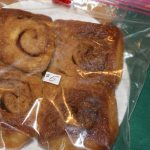 Yummy sticky buns for sale.