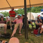 Creation camp life–practically a 5-star resort!