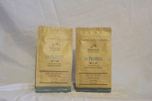 La Promesa Medium Roast Coffee, whole bean or ground, $14 per bag