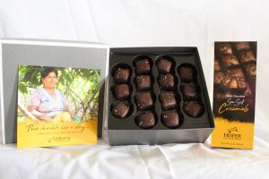 Dark Chocolate Sea Salt Caramels, 14 oz., $20 per box