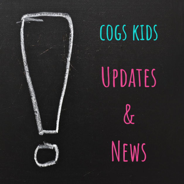 COGS Kids Update Dec. 30, 2020