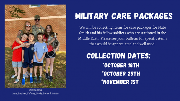 Family Service Project: Military Care Packages