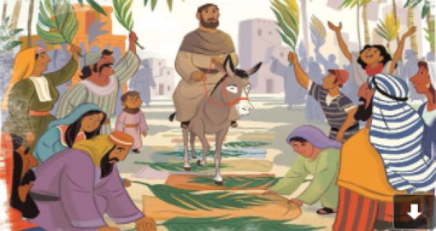 October 18th Lesson: Jesus' Triumphal Entry (Matthew 21; Mark 11; Luke 19; John 12)